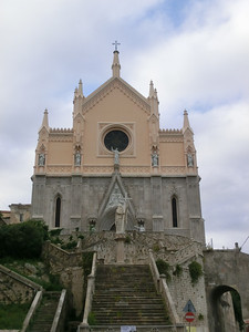 Gaeta:  Church closed for restoration