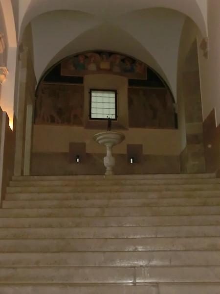 Monte Cassino:  Interior of Abbey