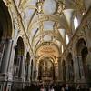 Monte Cassino:  Interior of church (reconstructed in original Baroque style)