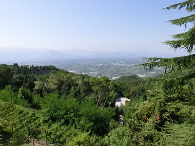 Monte Cassino: View of valley