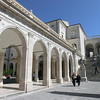 Monte Cassino:  Interior courtyard