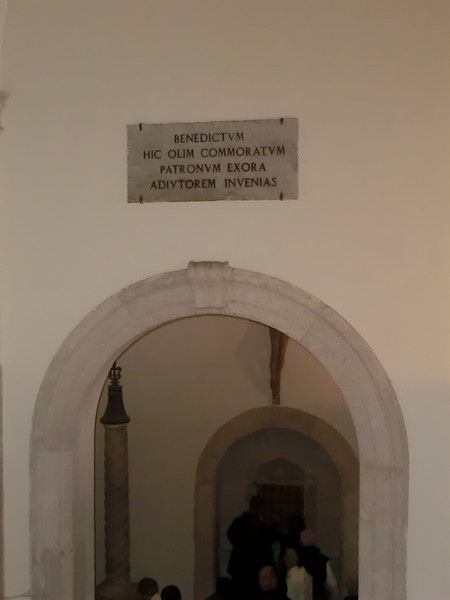 Monte Cassino:  Entrance to Benedictine Abbey
