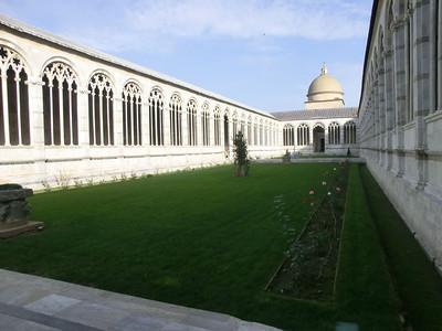 Campo Santo:  Interior courtyard
