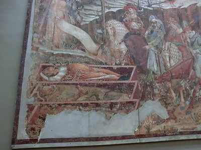 Campo Santo:  14th C frescoes (detail)