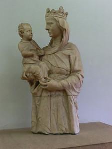 Duomo Museum: Madonna del Colloquio, Giovanni Pisano (13th C)