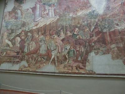 Campo Santo:  14th C frescoes