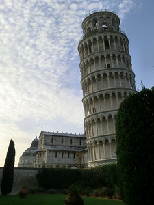 Leaning Tower at sunset