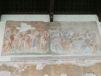 Campo Santo (monumental cemetery):  14th C frescoes (heavily damaged by Allied bombing in 1944)