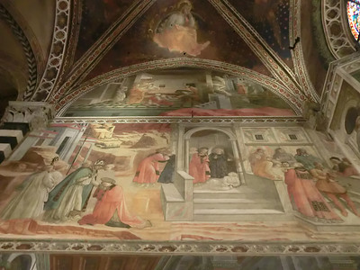 St. Stephen's Cathedral:  Fresco, Mission of St. Stephen, Filippo Lippi (15th C)