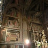 Cathedral of St. Stephen:  Cintola Chapel, frescoes of life of the Virgin, Agnolo Gaddi (14th C)