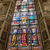 Cathedral of St. Stephen, Stained Glass, Flilppo Lippi (15th C)