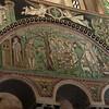 Basilica of San Vitale:  Mosaic of Abraham and Isaac