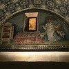 Mausoleum of Galla Placidia:  Mosaic of St. Lawrence (5th C)