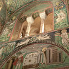 Basilica of San Vitale:  Mosaic of Abraham and Melchizedek with Hand of God
