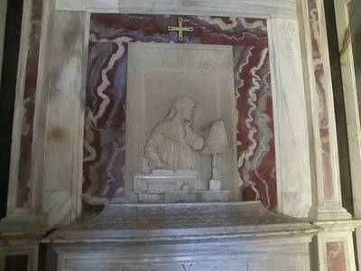 Church of San Francesco:  Dante's Tomb (the real one)