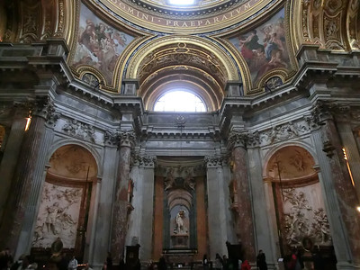 Sant'Agnese in Agone -- Interior(17th C)
