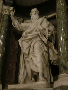 St. John Lateran:  Statue of St. Paul