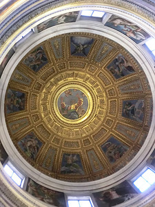 Santa Maria del Popolo, Dome of Chigi Chapel, Raphael (16th C)