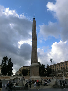 Piazza del Popolo, with Egyptian obelisk