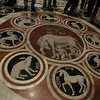Duomo, Marble mosaic floor, She-Wolf of Siena (14th C)