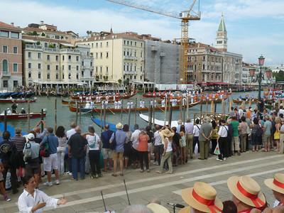 Canottieri join the parade