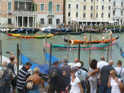 Parade of historic boats