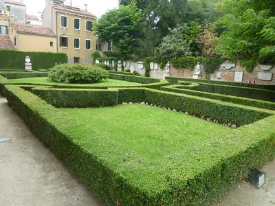 Garden of Ca' Rezzonico