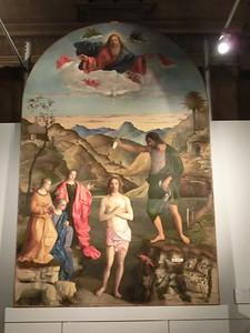 Giovanni Bellini, Baptism of Christ, Museo Diocesano (normally in Chiesa di Santa Corona)