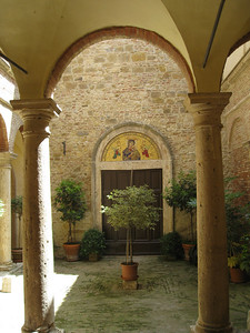 Pleasant cloister (now a hotel)