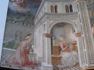 Lippi masterwork in Spoleto Duomo