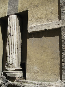 leftover Roman column
