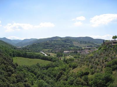 Spoleto countryside