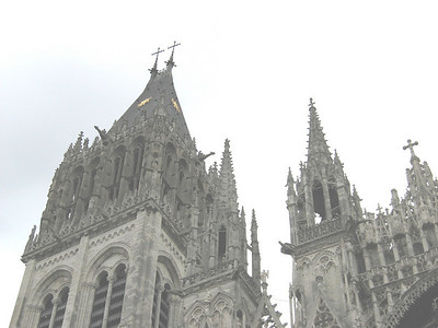 Rouen Cathedral: St. Romain Tower