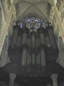 Rouen: Organ in St. Ouen