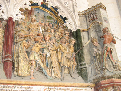 Amiens Cathedral - Life of St. Firmin (1488)
