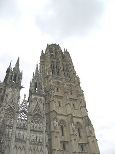 Rouen Cathedral: butter tower