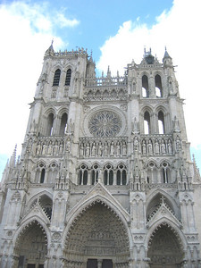 Amiens Cathedral: facade