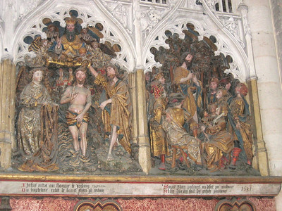 Amiens Cathedral (life of St. John - 1531)