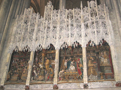 Amiens Cathedral (the life of St. John)