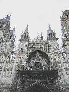 Rouen Cathedral: Facade