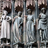 Strasbourg Cathedral: foolish virgins