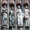 Strasbourg Cathedral: wise virgins