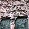 Strasbourg Cathedral: facade
