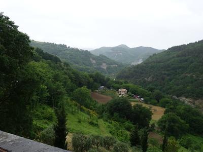 Hills above Ascoli