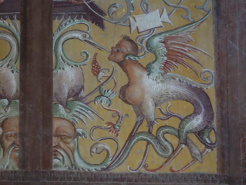 San Brizio Chapel - detail