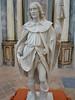 St. Blaise (?), patron saint of the lame