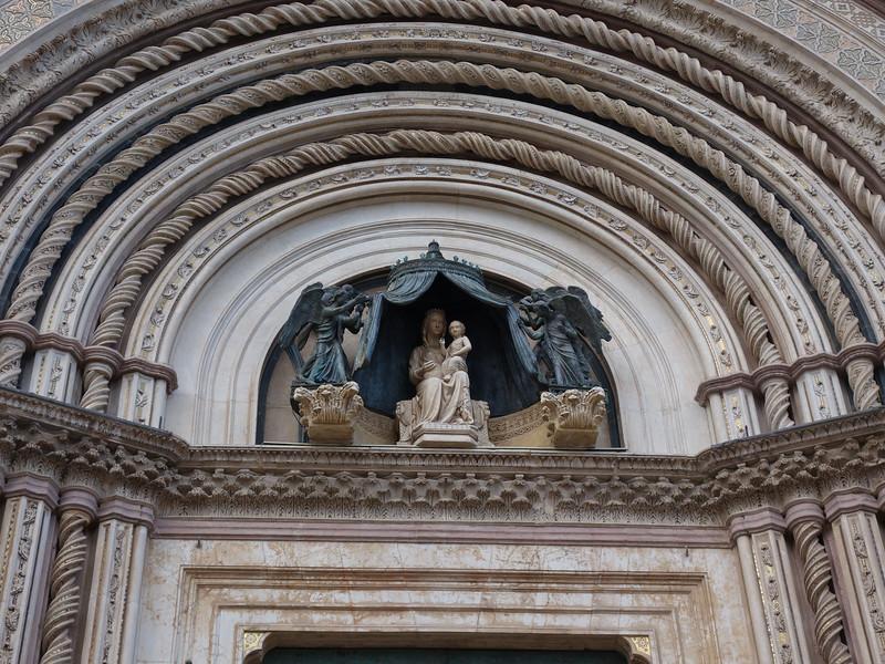 Madonna above Cathedral door