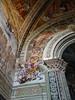 Cathedral, San Brizio Chapel -- the Four Horsemen of the Apocalypse rain down death