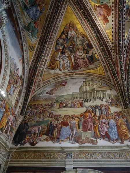 Cathedral, San Brizio Chapel -- The Antichrist Preaches
