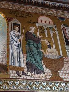Capella Palatina -- Baptism of St. Paul